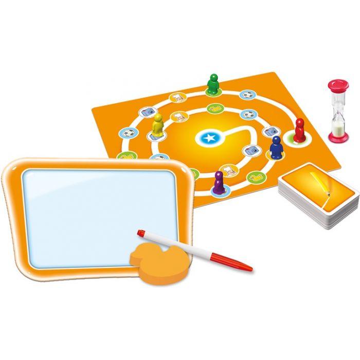 Spil gæt en tegning børneversion - tegn og gæt for børn - fra 5 år