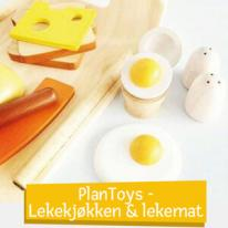 PlanToys - Lekekjøkken & Lekemat