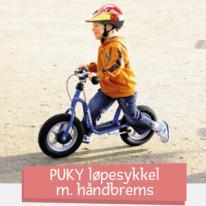 PUKY løpesykkel m. håndbrems