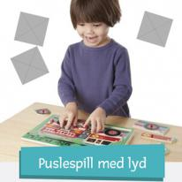Puslespill med lyd