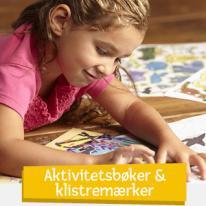 Aktivitetsbøker & Klistremerker