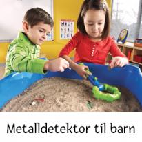 Metalldetektor til barn