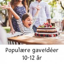 Populære gaveidéer 10-12 år