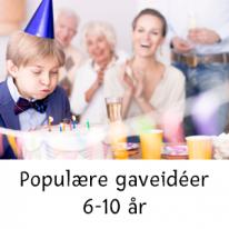Populære gaveidéer 6-10 år