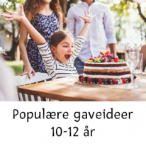 Populære gaveideer 10-12 år