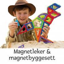 Magnetleker & Magnetbyggesett